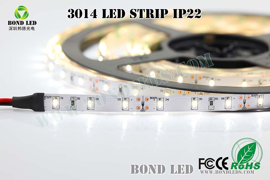 120 LED per meter 14.4watt per meter Flexible vertical Led Strip 12V/24Vdc with UL TUV CE ROHS
