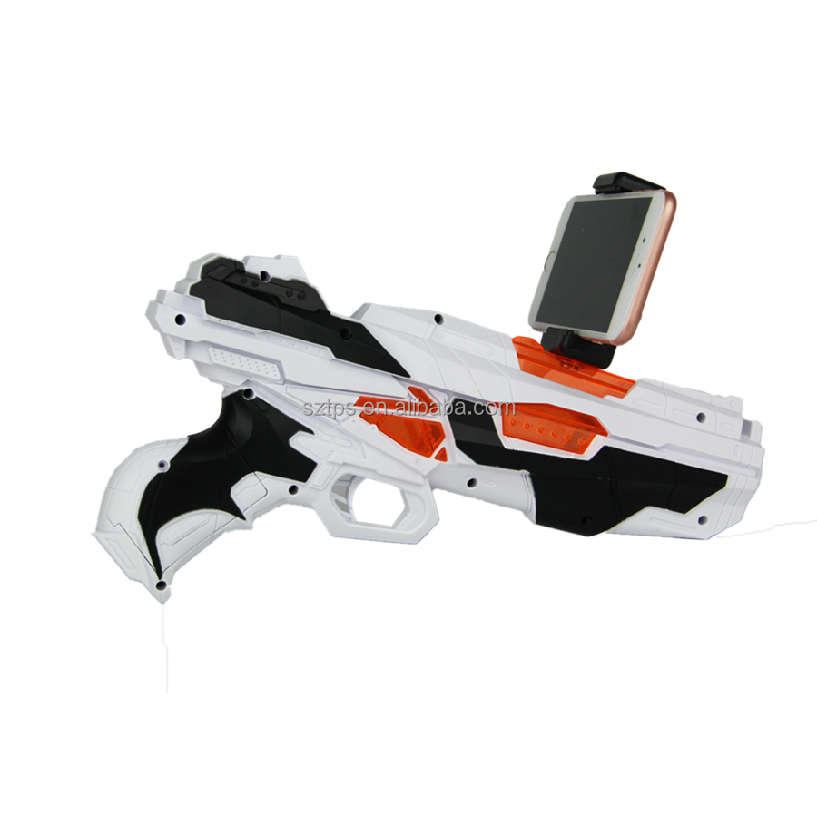 AR game <strong>gun</strong> for kids electric toy <strong>gun</strong> with shoot games controller for phone connecting by Bluetooth