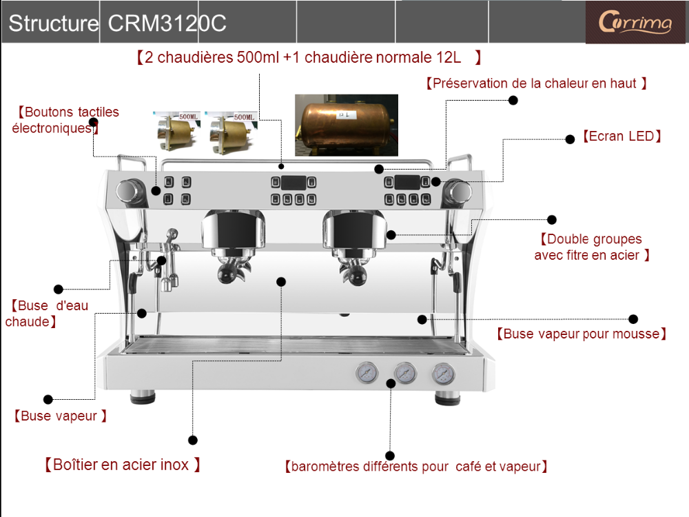 1 group semi automatic espresso commercial coffee machine for cafe rh alibaba com coffee machine circuit diagram coffee machine parts diagram