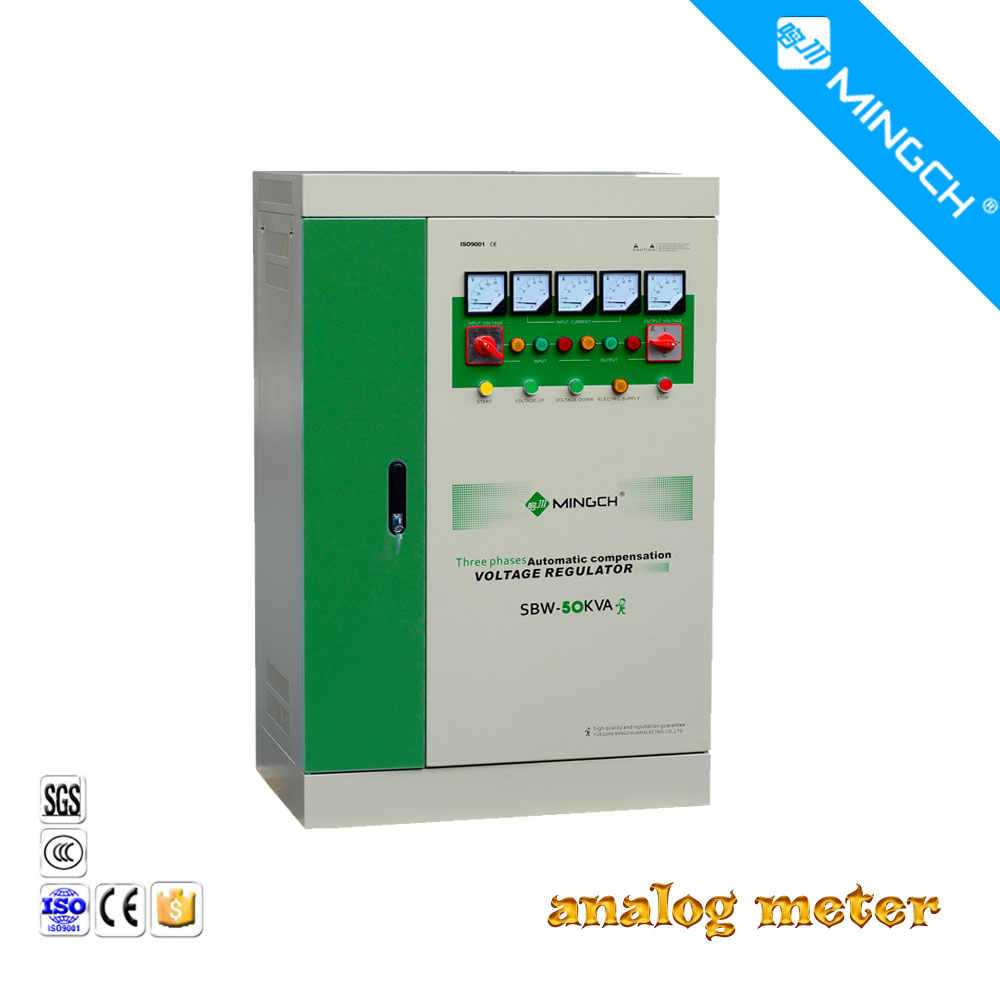 3-phase AC automatic power AVR stabilizer 50KVA 380V,AC stabilized voltage power supply