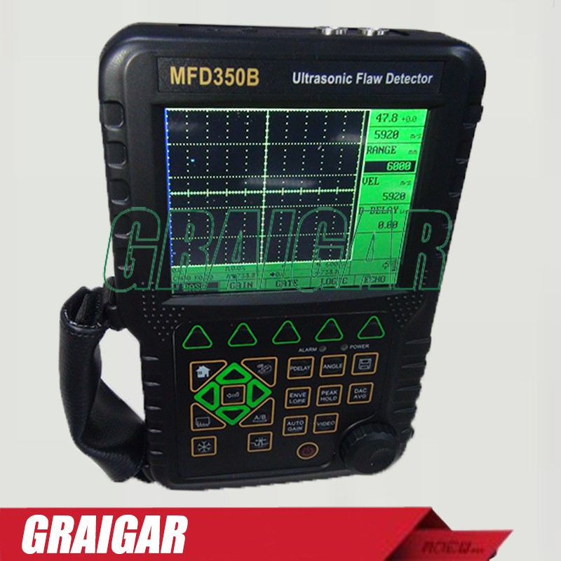 MFD350B Ultrasonic Flaw Detector WITH EXTRA PROBES and CABLES Digital portable Ultrasonic Flaw Detector