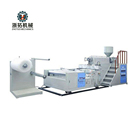 Double Layers Plastic Air Bubble Film Extrude Machine