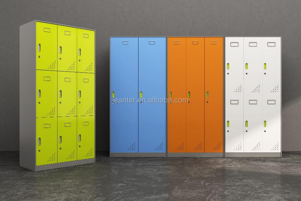 Powder Coated Steel Storage Lockers, Storage Portable Locker, Steel Cabinet  Clothes Locker