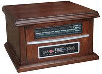 Wood Brown Box Space Infrared Quartz Heater