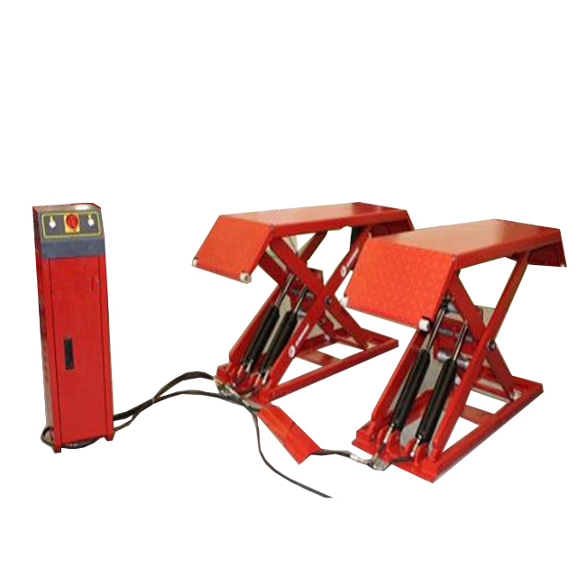 professional manufacturer with low price CE automotive scissor lift