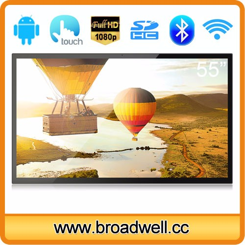 BW-MC5501_7 55 Inch RK3288 Quad Core A17 Android 5.1 Full HD 2GB Memory 16GB Storage Ten Point Capacitive Touch Screen Android TV