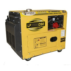 8kVA Air Cooled Soundproof Diesel Generator