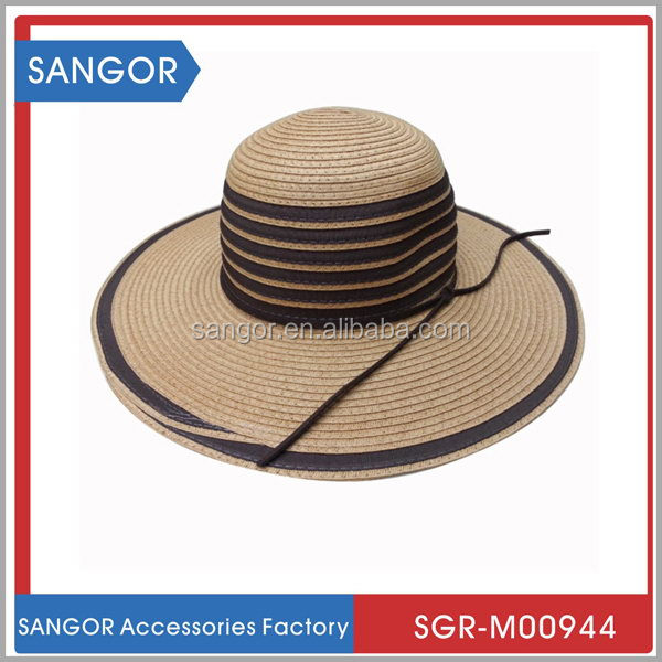 New arrival classic design factory straw hat craft supplies