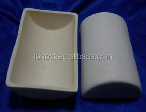 High Precision Ceramic High 99.7% Alumina Boat Crucible
