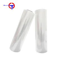 China Factory Price Wholesale Plastic Film Rolls Wrap Cling Hand Stretch Film
