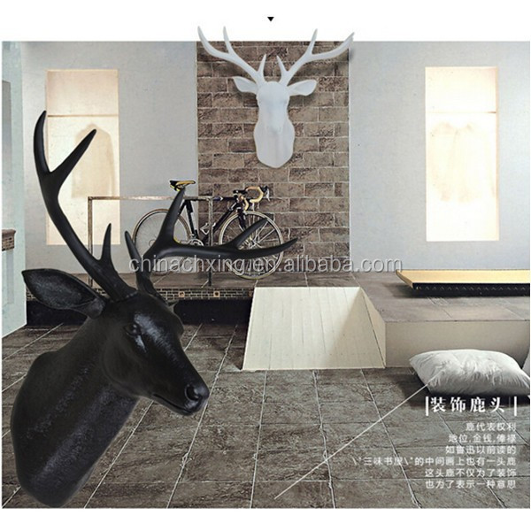 handmade deer head outer wall hanging decoration