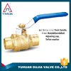 Apply to pipeline corrosion resistant CE certified success with a long handle brass ball valve
