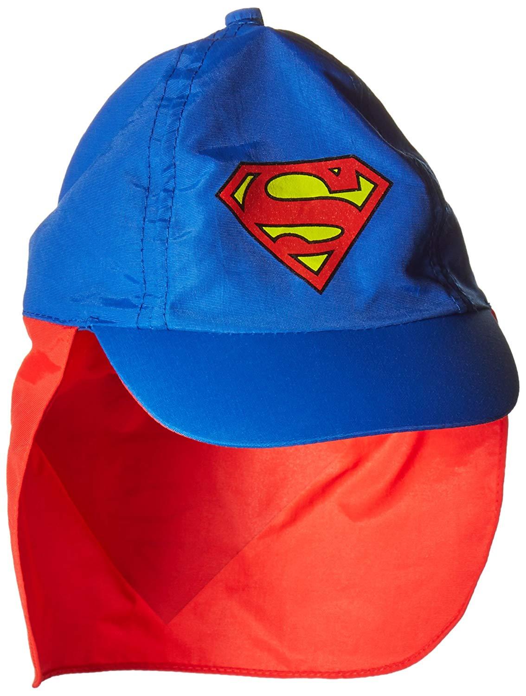 Get Quotations Dc Comics Boys Superman Cape Hat With Logo