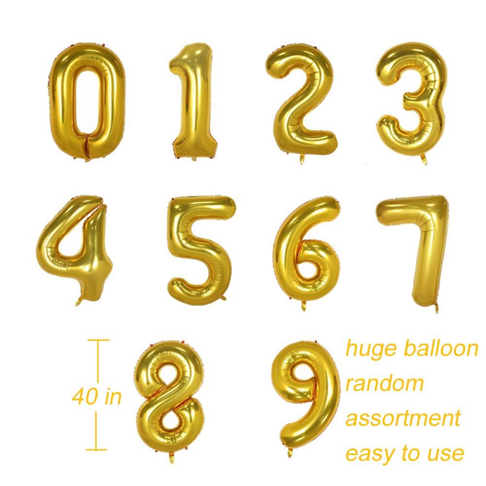 Boomwow-Großhandelsparty-Aluminium-Werbeartikel benutzerdefinierte große Buchstaben Anzahl geformte Heliumfolie Ballons