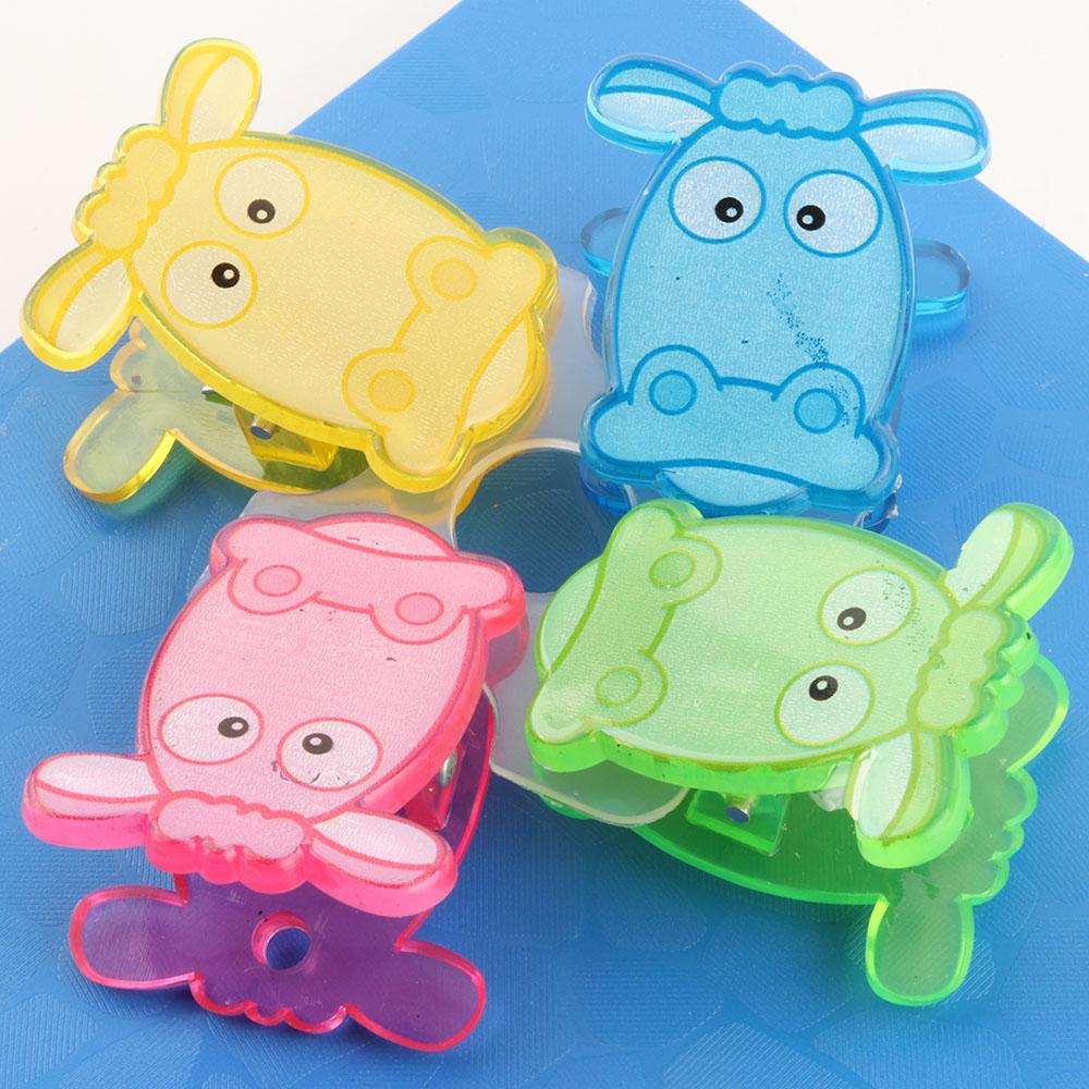 도매 다채로운 동물 종이 클립 크리 에이 티브 친환경 클립