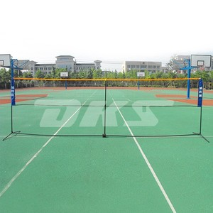 Foldable And Portable badminton net with stand for outdoor sports