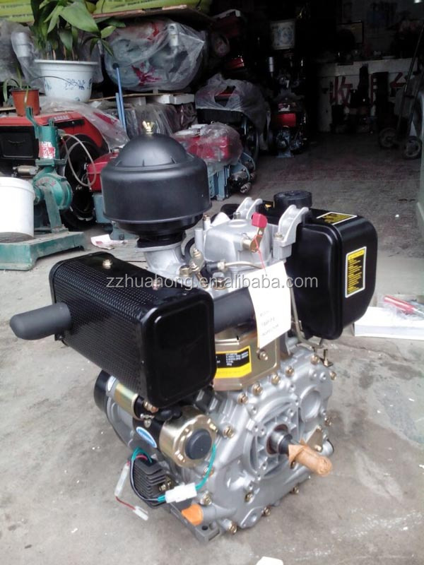 Changfa single cylinder diesel, air-cooled diesel engine, diesel motor