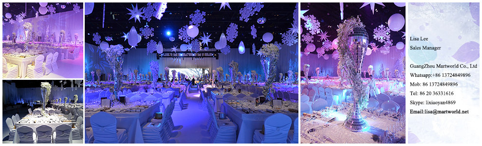 Guangzhou martworld trading ltd wedding decorationcenterpiece how do i set this junglespirit Images