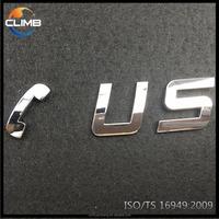 Best selling product 3M Glue chrome auto sticker badge emblem stickers car car wrap vinyl