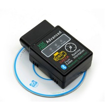 HH OBD 2 Bluetooth V2.1 <span class=keywords><strong>Mini</strong></span> <span class=keywords><strong>ELM327</strong></span> HHOBD2 Auto Diagnostica Scanner Funziona su Android Symbian di Windows ELM 327 BT adattatore
