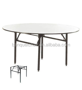 Folding hotel table foldable restaurant table foshan ft for Cuisine table retractable