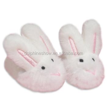 5d8753fe74 Wholesale Soft Custom Slipper Plush Rabbit Stuffed Toys Kids Girls Fluffy  Slipper Unicorn Shoes For Kids