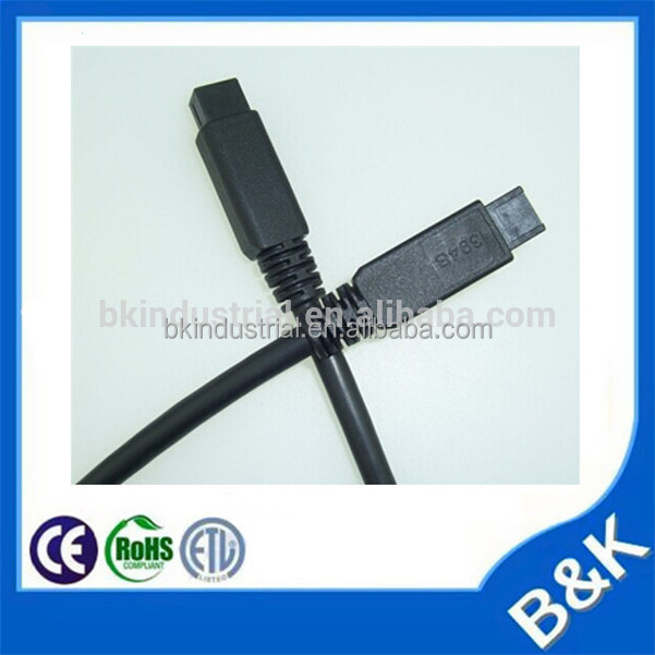 Benin 5Ft USB To Firewire iEEE 1394 4 Pin with CE RoHS certificate