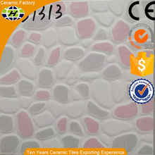 Manufacturer outdoor cheap sidewalk curved ceramic tiles