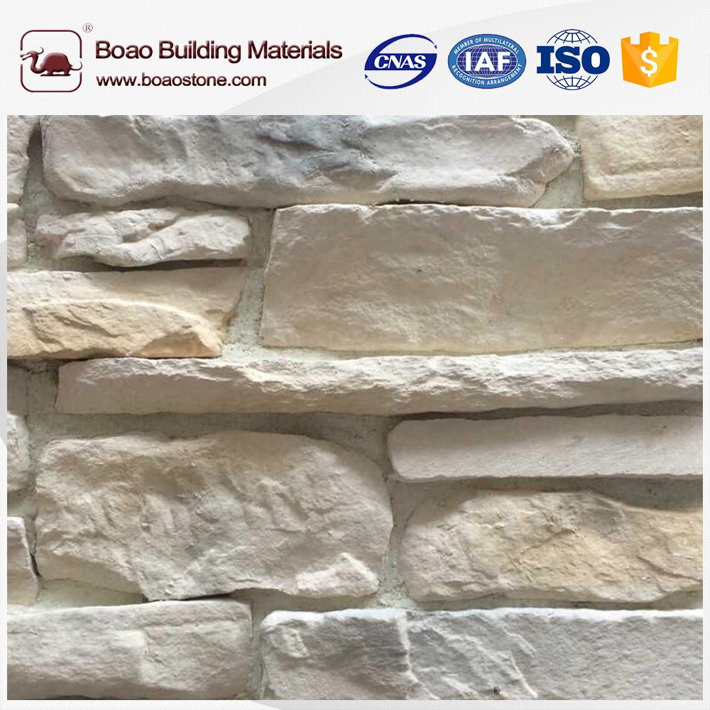 Decoraci n villa de piedra revestimiento de la pared de - Moldes para piedras artificiales ...