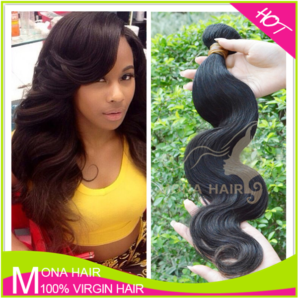 GZ Mona Top Quality Cheap Brazilian Body Wave Hair Bundles