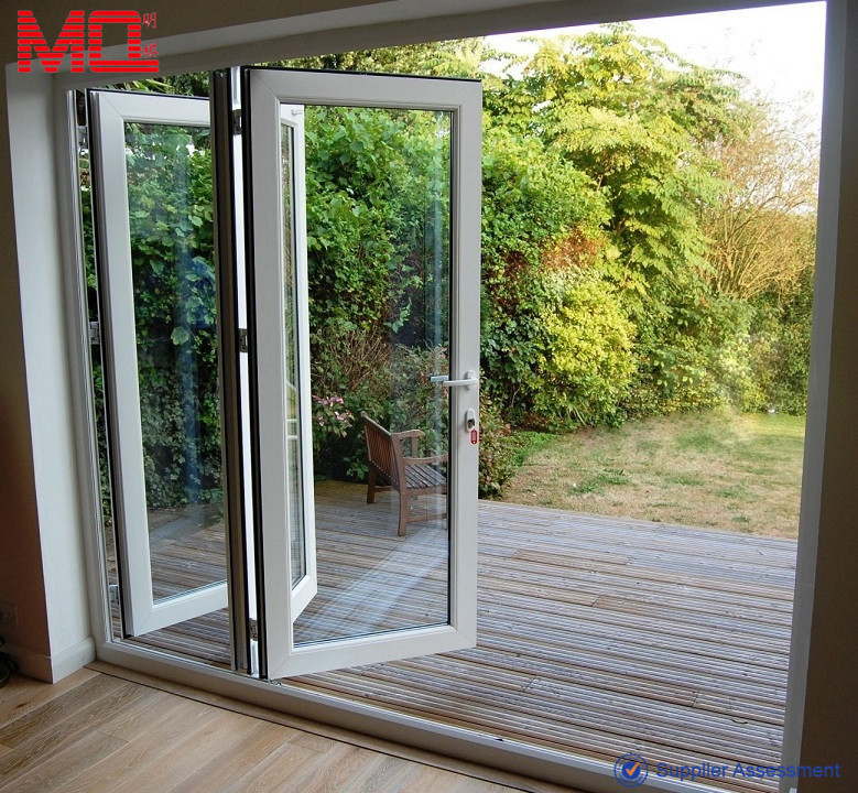 Popular 3/6 panel folding glass door in USA & Popular 3/6 Panel Folding Glass Door In Usa - Buy 3 Panel Folding ...
