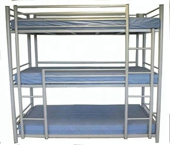 Adult Metal Bunk Bed Replacement Part Army Surplus Beds 3 High Bunk