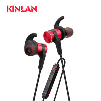 Kinlan OEM bulk items wireless earphone bluetooth stereo sport 2018 consumer electronics