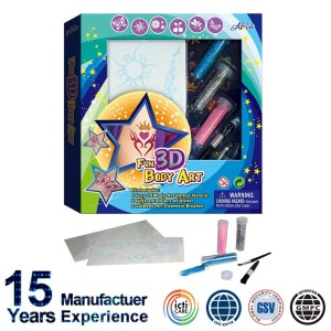 Body Art Pen , Body Art , Body Art Glitter Tattoo Kit