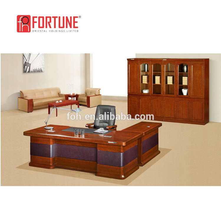 Simple Wood Computer Desk Executive Office Desk With Locking Drawers  (foh-k2466) - Buy Executive Desk With Locking Drawer,Office Desk With  Locking ...