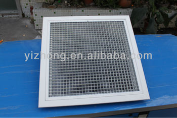 4 Way Wall Ceiling Adjustable Diffuser Grill Aluminum Square Air Diffusers With Damper Buy Air Diffuser Egg Creat Square Ceiling Air Diffuser