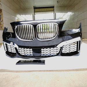 M STYLE LOOK BODYKIT FOR B MW 7 SERIES F01 F02 2009-2015 BUMPER WITH GRILLE