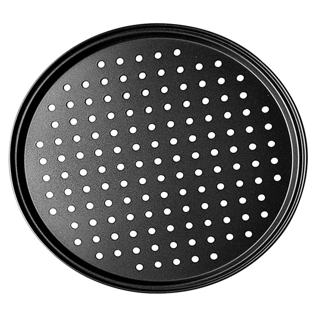 Aluminum Steel Round Crispy Crust Pizza Oven Tray Perforated Bakeware Tool Kitchen Cooking Accessories for Restaurant Home Daily Use Segarty 8 inch Nonstick Pizza Pan with Holes Pizza Baking Pan