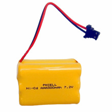 Nicd 2.4 v 4.8 v 7.2 v <span class=keywords><strong>aaa</strong></span> 300 mah ni-cd <span class=keywords><strong>batterie</strong></span> rechargeable