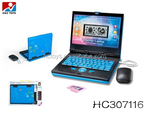 Multifunctionele mooie intelligente kinderen laptop learning machine HC307116