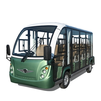 11 Seater Enclosed Electric Shuttle Car for Tourism