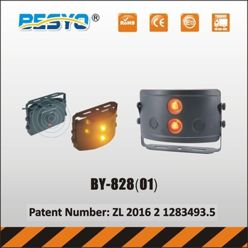 Reversing sensor with warning light for forklift & heavy vehicles