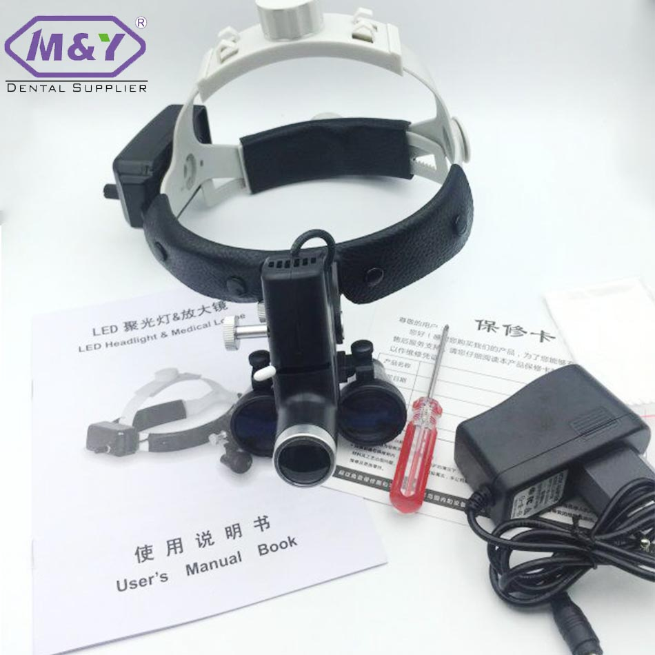 Factory price Portable led headlight ENT dental surgical loupes surgical headlamp ent head light