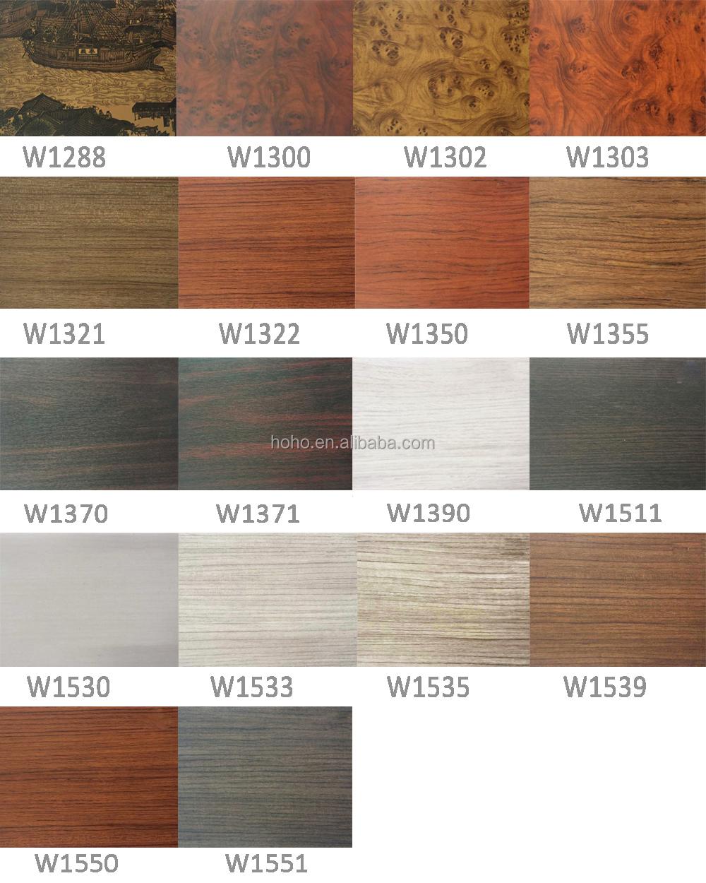 Wood Grain Self Adhesive Furniture Covering Foil Color Wrap Vinyl ...