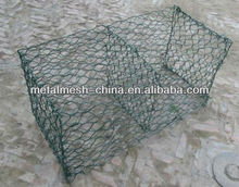architectural decoration wire mesh/gabion price/double twisted hexagonal mesh gabions