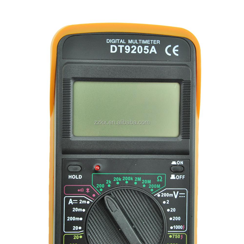 цифровой мультиметр инструкция dt9205a