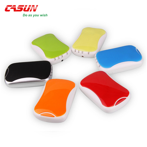 Mouse portable power bank with usb cable for women and promotional gift