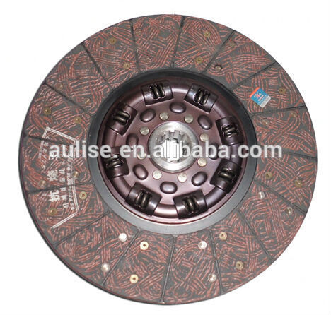 Clutch disc 1601.6B-130 DONGFENG EQ1064 DONGFENG TRUCK CLUTCH/DONGFENG TRUCK SPARE PARTS DISCO DE EMBRAGUE