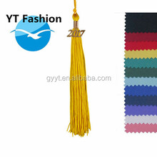 Colorful tassels for graduation caps