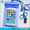 2017 Custom Logo PVC Mobile Phone Waterproof Bag for Boating